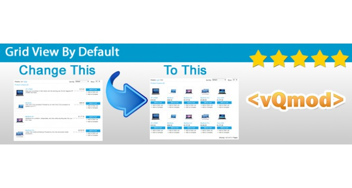 how to change web site view