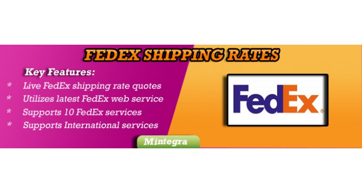 Federal Express FEDEX Shipping Rate (US EDITION) 3.X 2.X 1.5.x