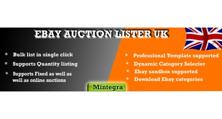 Opencart Ebay Auction Lister 2 0 Module Opencart Uk Edition Oc 1 5 X