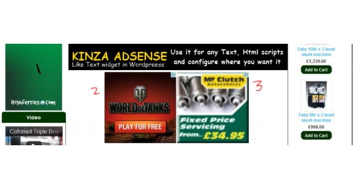 Kinza Adsense