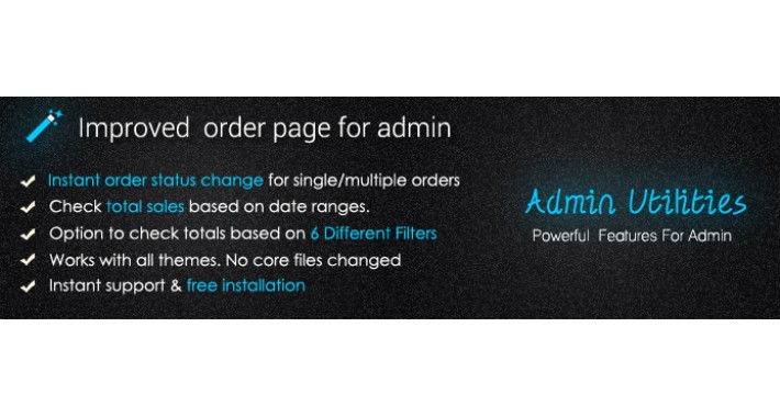 Improved Sales Order Page For Admin