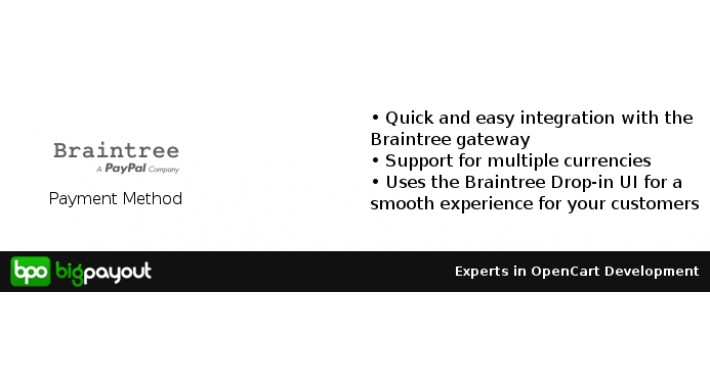 Braintree Payments (Supports Recurring Payments)