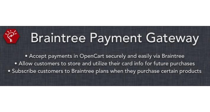 (1.5.x) Braintree Payment Gateway
