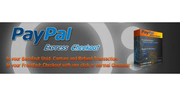 PayPal Express Checkout also Capture, Void and Refund admin