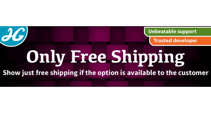 [VQMOD] Show Free Shipping Only if available 1.5.X