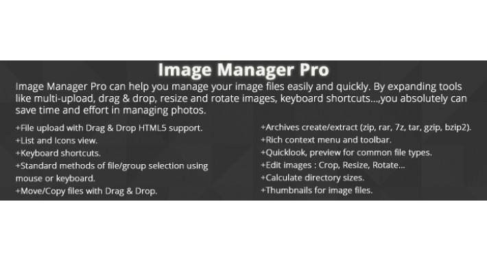 Image Manager Pro