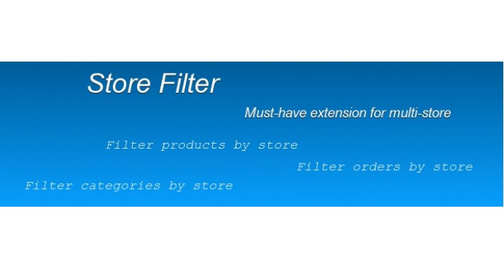 Store Filter