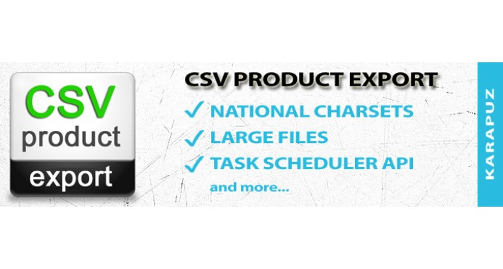 CSV Product Export (for Opencart 1.5)