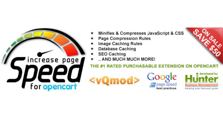 Increase Page Speed Minify Compress Cache Database Optimization