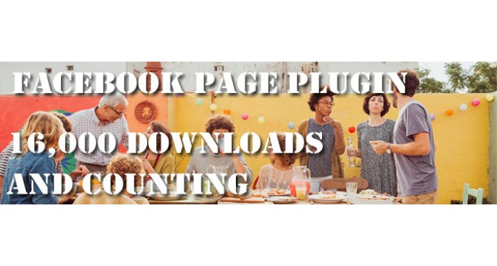 Facebook Page Plugin (Likebox) - 16,000+ downloads, 5* rating