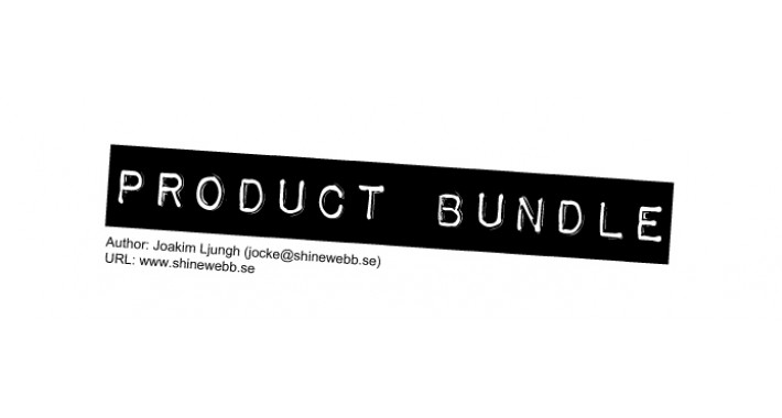 Product Bundle v1.23