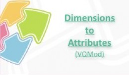 Dimensions to Attributes