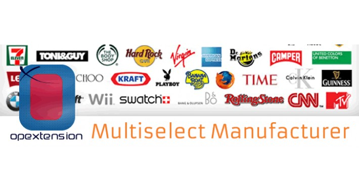 Multiselect Manufacturer (Multi Manufacturer)