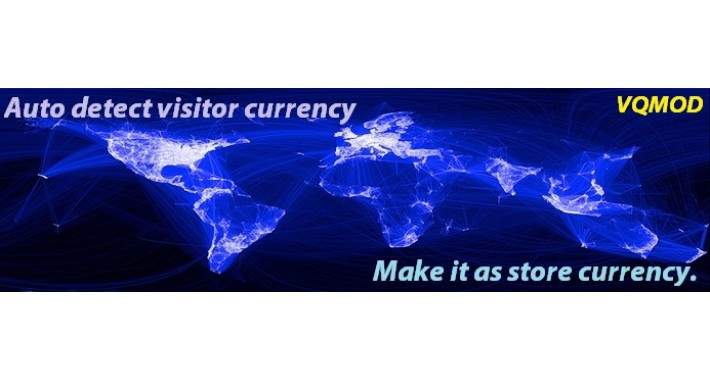 Auto Set Store Currency Based on Visitor Currency