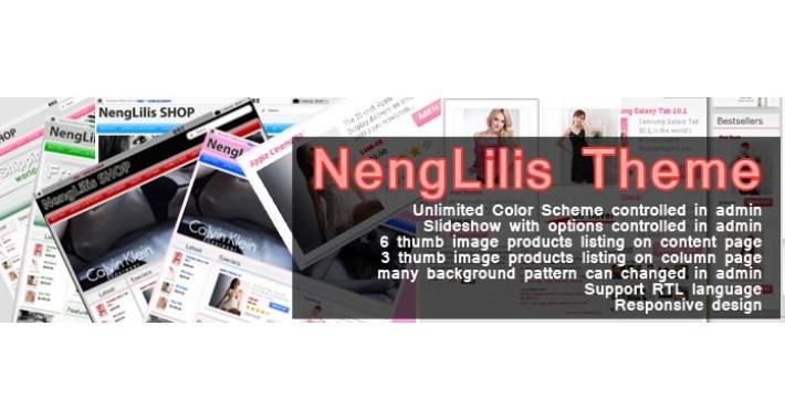 NengLilis Responsive Opencart Theme