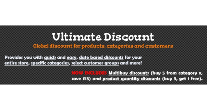 Ultimate Discount V1