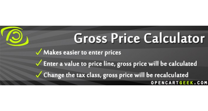 Gross Price Calculator
