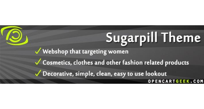 Sugarpill Theme (Fashion, Beauty, Makeup, Cosmetics)