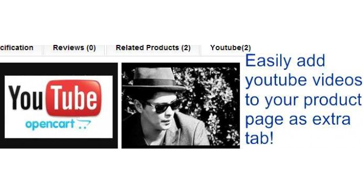 Youtube Product Movie Tab