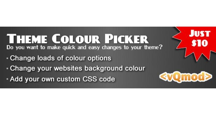 Theme Colour Picker - Change your theme colours