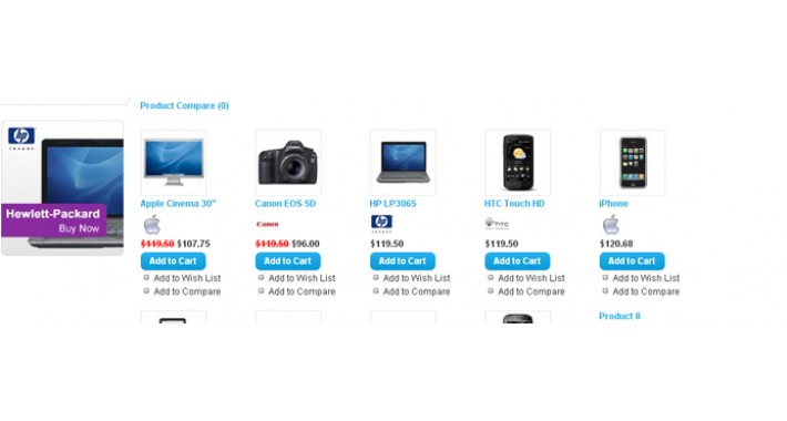 Brands logo(icon) on category page (VQMOD).