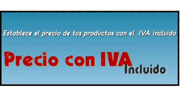 Precio con IVA incluido