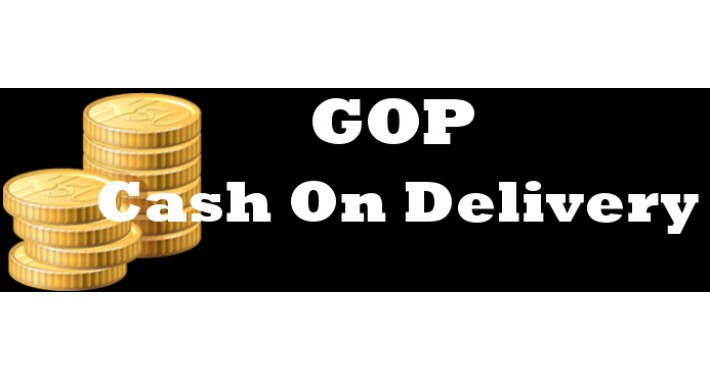 GOP Cash On Delivery