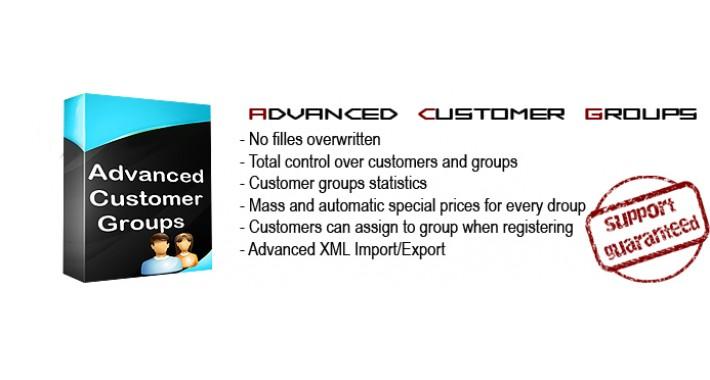 Advanced Customer Groups v1.7