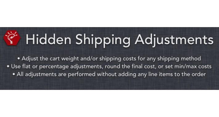 (1.5.x) Hidden Shipping Adjustments