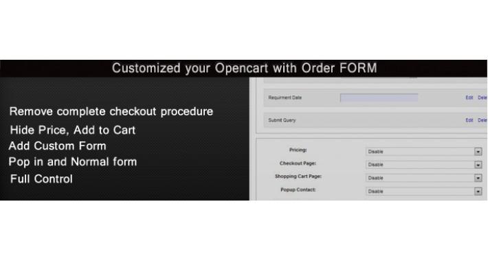 Customize Opencart