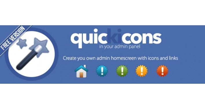 Quick Icons Admin Panel Homescreen Free