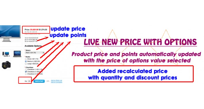 Live New Price with Options (1.5.x-2.3)