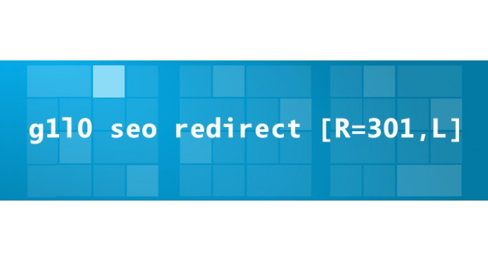 g1l0 SEO OpenCart Redirect