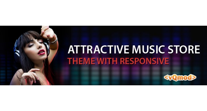Attractive Music Store Responsive Theme