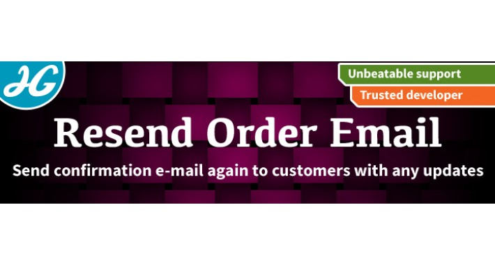 [VQMOD] Resend Order Confirmation E-Mail To Customers 1.5.X