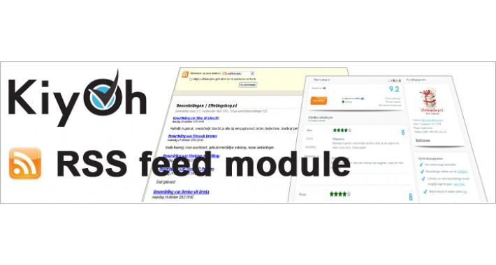 Kiyoh rss feed display module