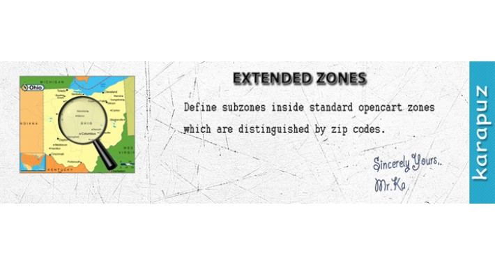 Extended Zones