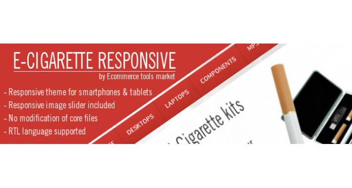 Theme E-cigarette responsive and RTL