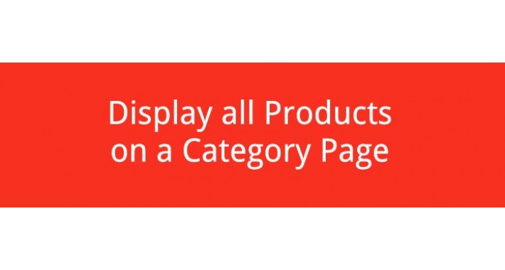 Display all Products