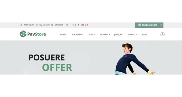 Pav Store Opencart Theme