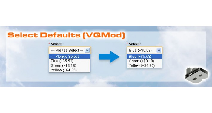 Select Defaults (VQMod)
