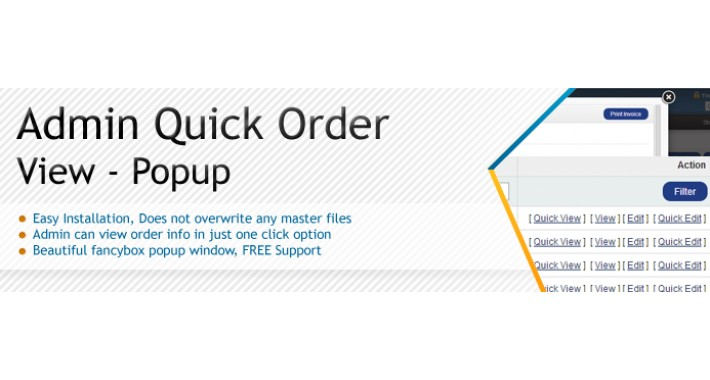 Quick Order View Popup - SALE 30% DISCOUNT