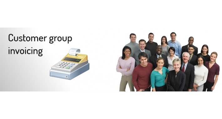 Customer Group Invoicing