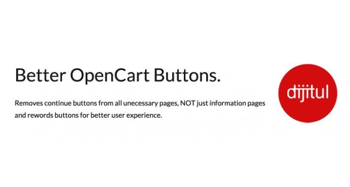 Better Buttons on OpenCart