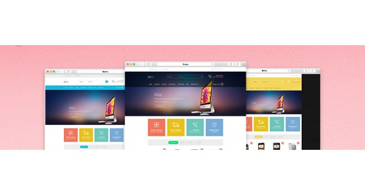 iOC7 – A responsive OpenCart theme with modern flat design