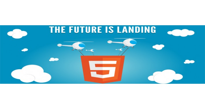 HTML5 Video Intro Page
