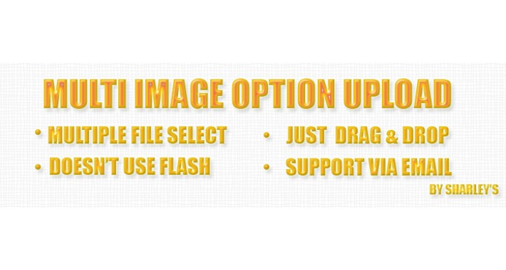 (Vqmod) Multi Image Option Upload