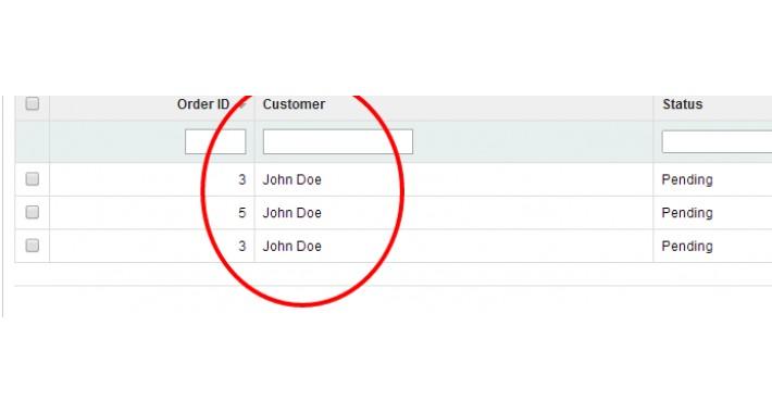 View Customer Orders