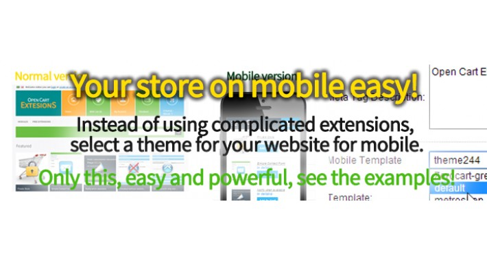 Your Store on mobile EASY!