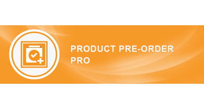 Opencart Preorder Pro